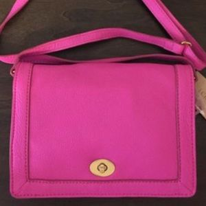 J. Crew Tillary purse in hot pink 👛